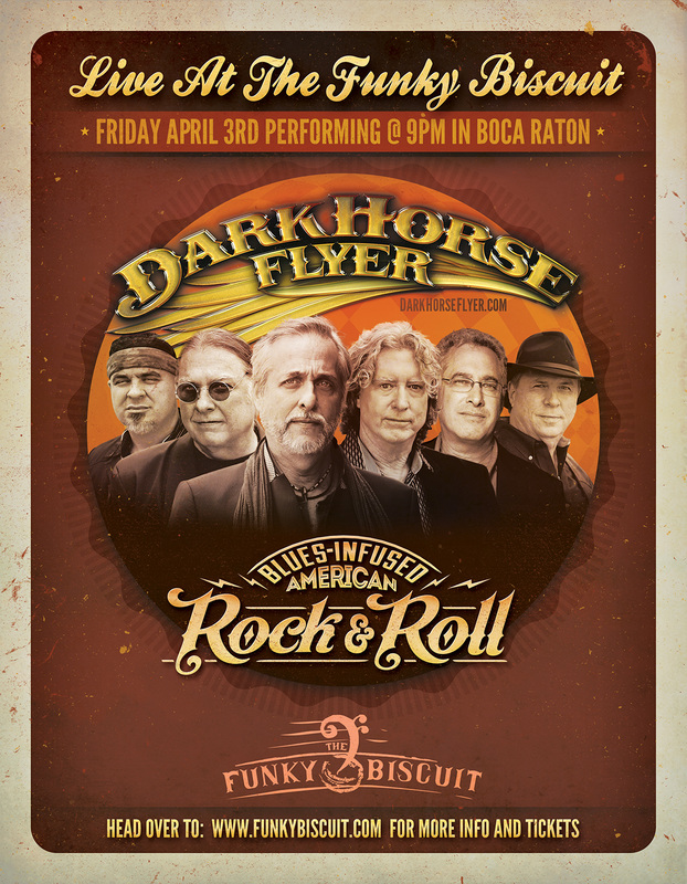 Dark Horse Flyer - Band Promo
