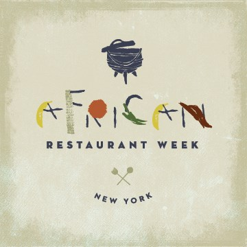 African Restaurant Week - Promotional Materials