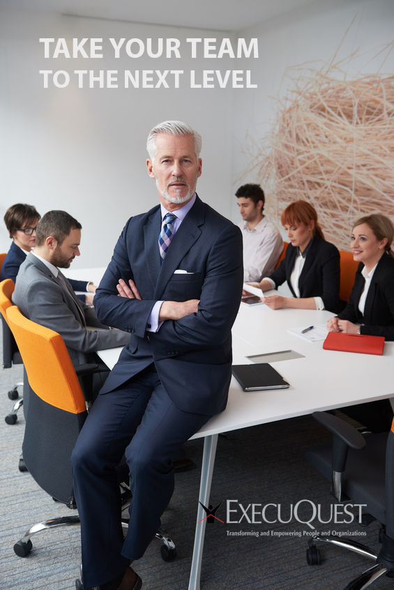 49108080 - senior businessman with his team at modern office. business people group